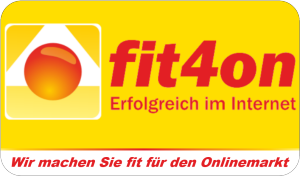 Webdesign -fit4on-